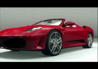 Costruisci la Ferrari F430 – 3D