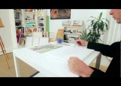 Corso di pittura e disegno in DVD